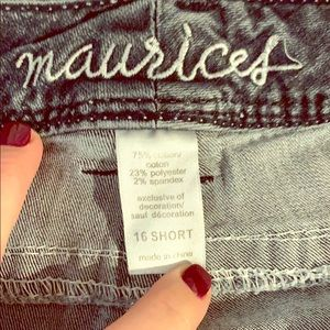 Maurices bootcut 16 Short